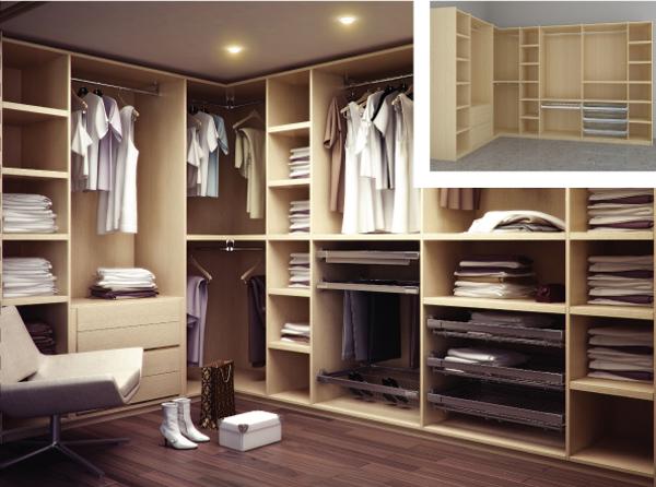 Удобство гардеробной